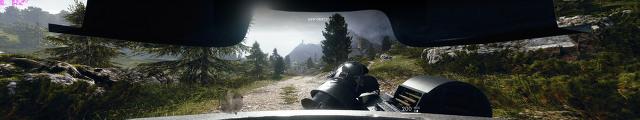 배틀필드 1 트리플 모니터 해상도 프레임 벤치마크 - FHD 해상도와 비교해서 - Triple monitor(5760x1080) frame benchmark at Battlefield 1