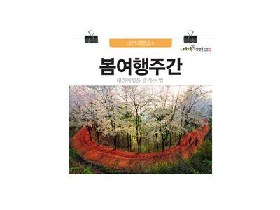 봄여행주간 대전여행추천코스