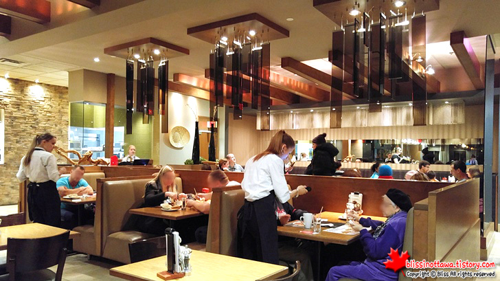 캐나다 오타와 식당 다이닝 룸