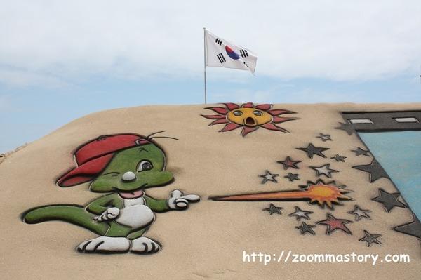 부산모래축제, 해운대, 작품