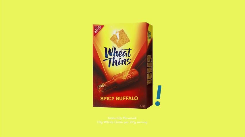 윗틴(Wheat Thins) 크래커 TV광고 - 야간 투시경을 쓰고, 내 과자를 지켜라! [한글자막]