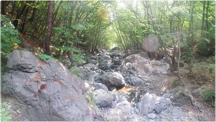 간월산 계곡