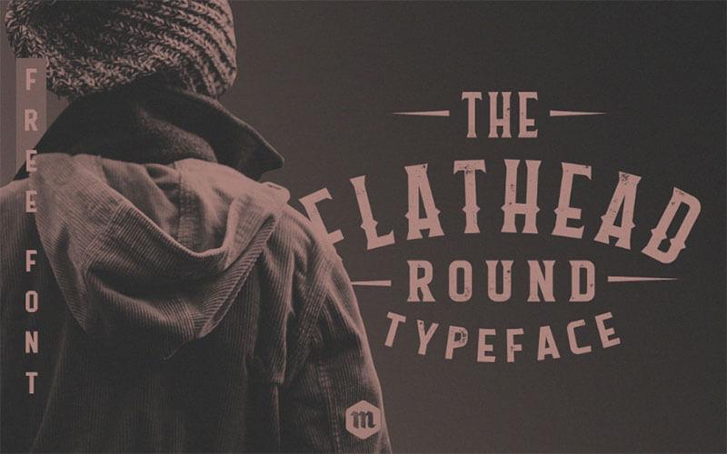 The Flathead Round Typeface