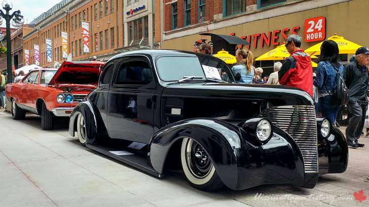 1939년식 쉐보레 마스터 드럭스 쿠페입니다