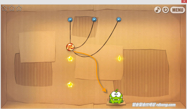 cut the rope 심심할때