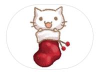 [아이폰 오늘의 무료앱 ] 아이메시지 스티커앱 Christmas Of Cute Cat Stickers