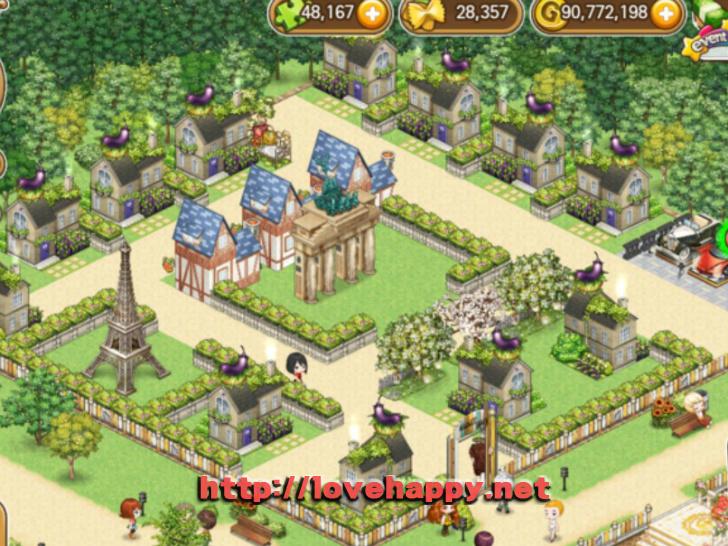 마켓타운 기본틀로 사용하기 좋은 깔끔한 마을 아이러브 파스타 인테리어 by 우궁 001