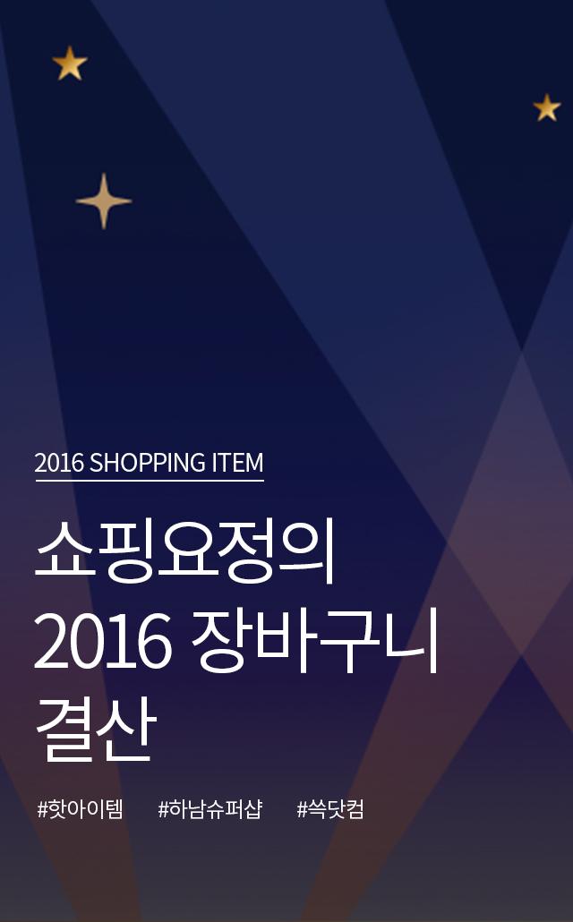 2016 SHOPPING ITEM 쇼핑요정의 2016 장바구니 결산 #핫아이템 #하남슈퍼샵 #쓱닷컴