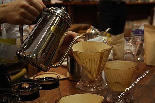 핸드드립, 바리스타, 커피