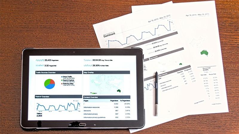 사진: 구글은 애널리틱스를 통해서 사이트와 블로그 통계를 제공하고 있다.