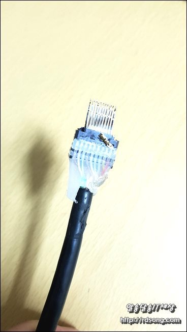 HDMI  2.0 케이블 분해