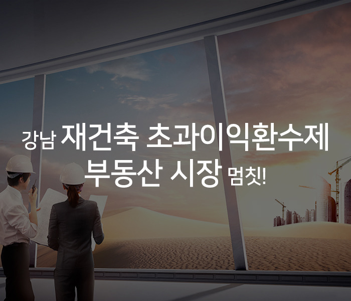 재건축 초과이익환수제 - 강남초토화!!!