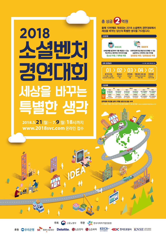 외부기관공지   2018년 소셜벤처 경연대회 모집