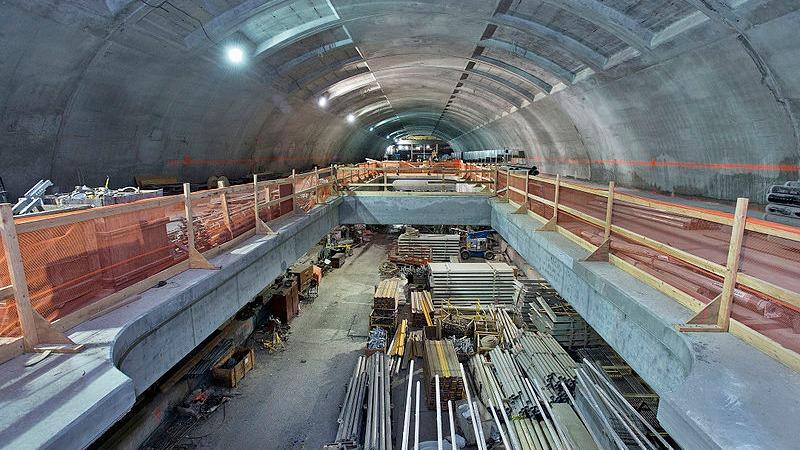 사진: 지하철 터널 공사는 여러 가지 방법이 있지만, 최근에는 주민 불편 때문에 공해를 줄이려고 노력하고 있다.