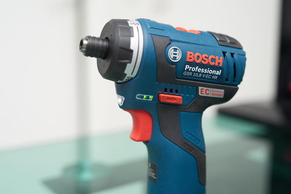 BOSCH GSR 10.8V-EC HX