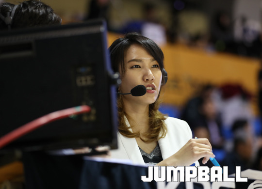 """""""기회가 왔을 때, 최선을 다하는 것이 중요합니다""""-농구 해설로 제 2의 농구 인생을 맞은 전 농구 국가대표 김은혜."""