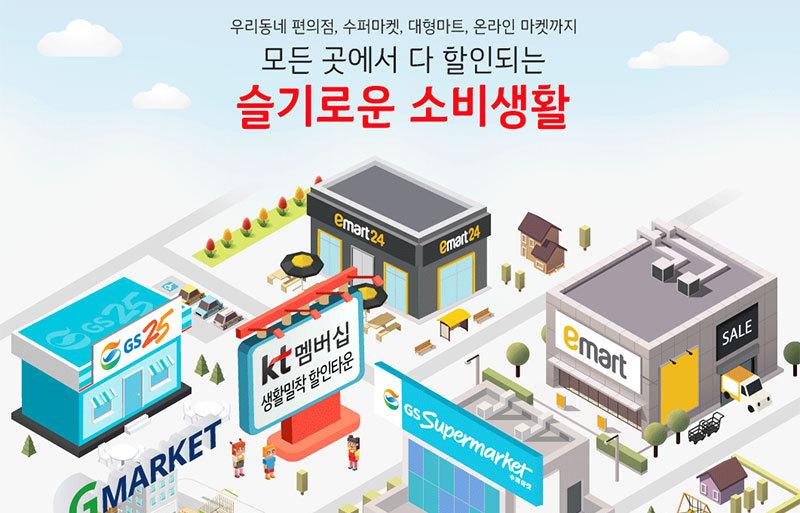 KT 더블할인 멤버십으로 슬기로운 쇼핑생활