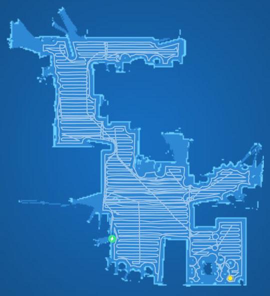 청소기 맵