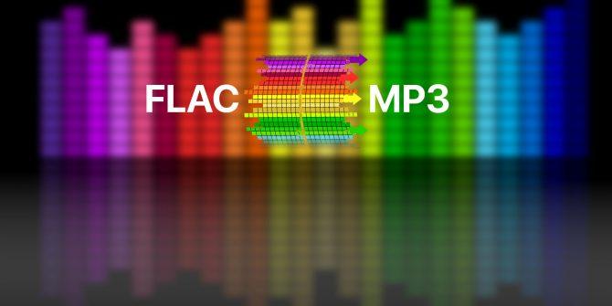 맥에서 FLAC 음악파일 M4A로 변환 프로그램