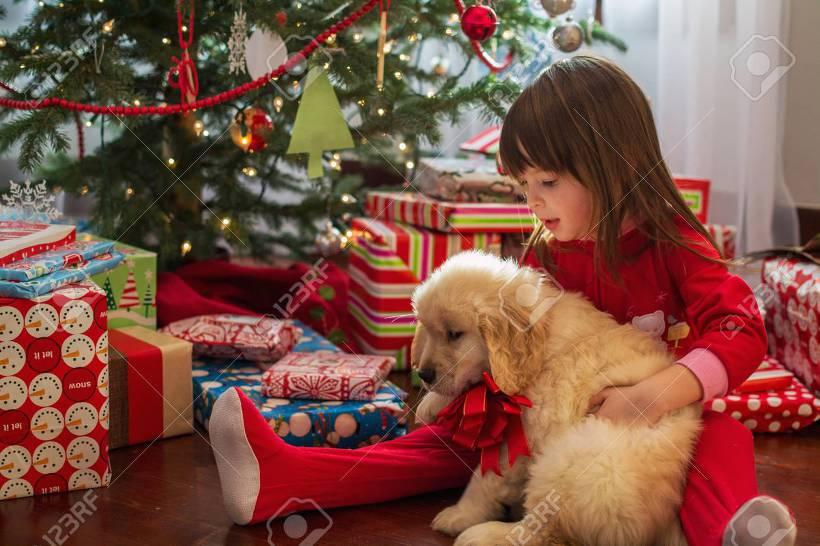 아이와 강아지