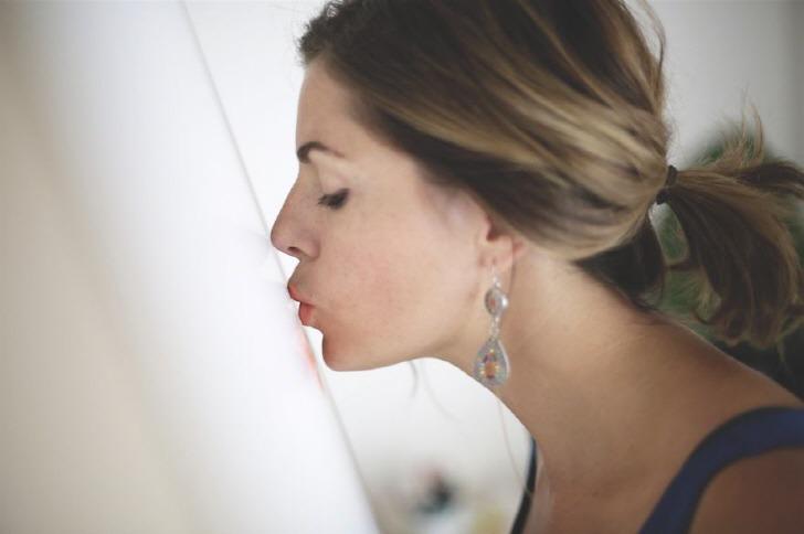 세계에서 가장 키스 많이 한 여자