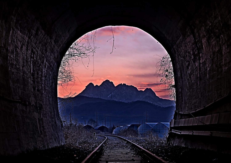 백제역 터널 ,,