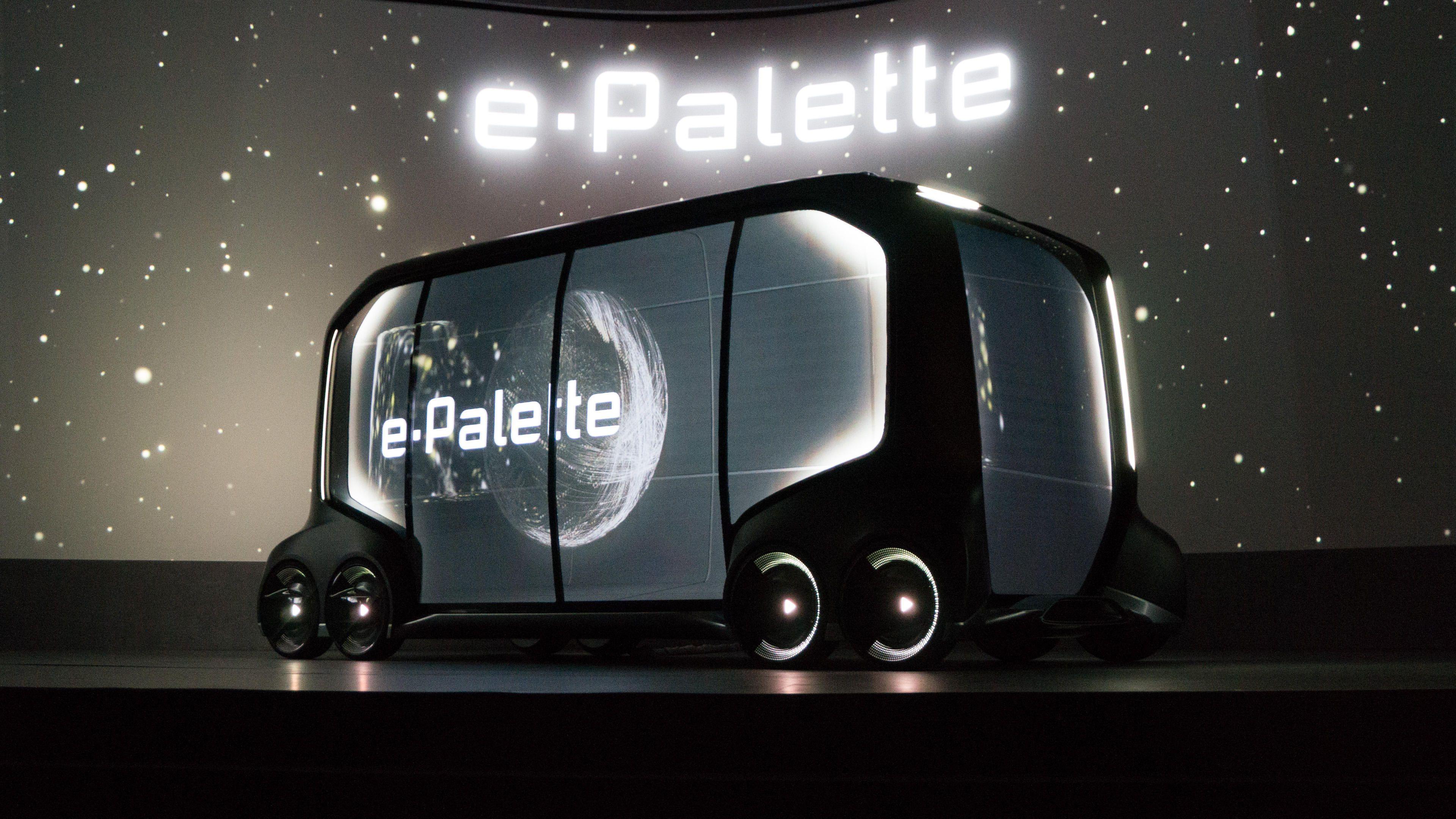 Best of CES 2018로 뽑힌 도요타의 자율주행 기반 이동식 플랫폼, e-Pallette