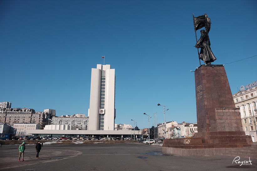 블라디보스톡 여행 혁명광장에서 독수리 전망대까지