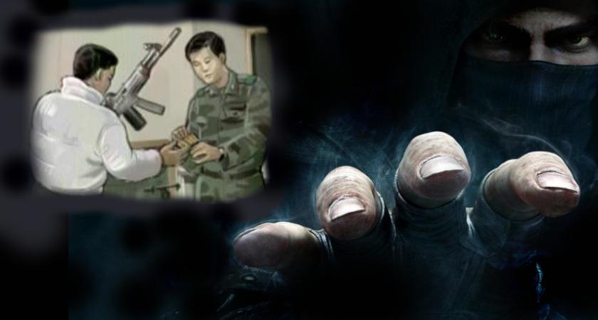 화성 해안초소 K-2 소총 탈취사건