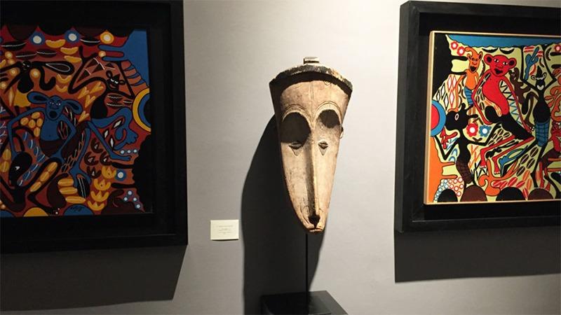 사진: 모딜이아니 홈페이지에서 소개하는 그의 아프리카인 조각.