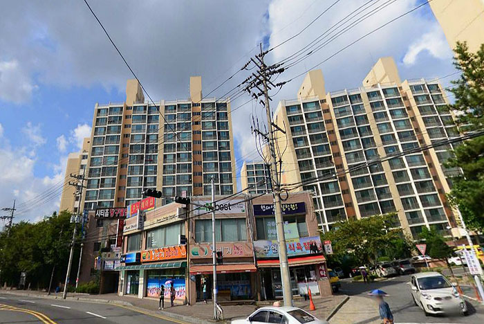 용흥동 현대고층2차