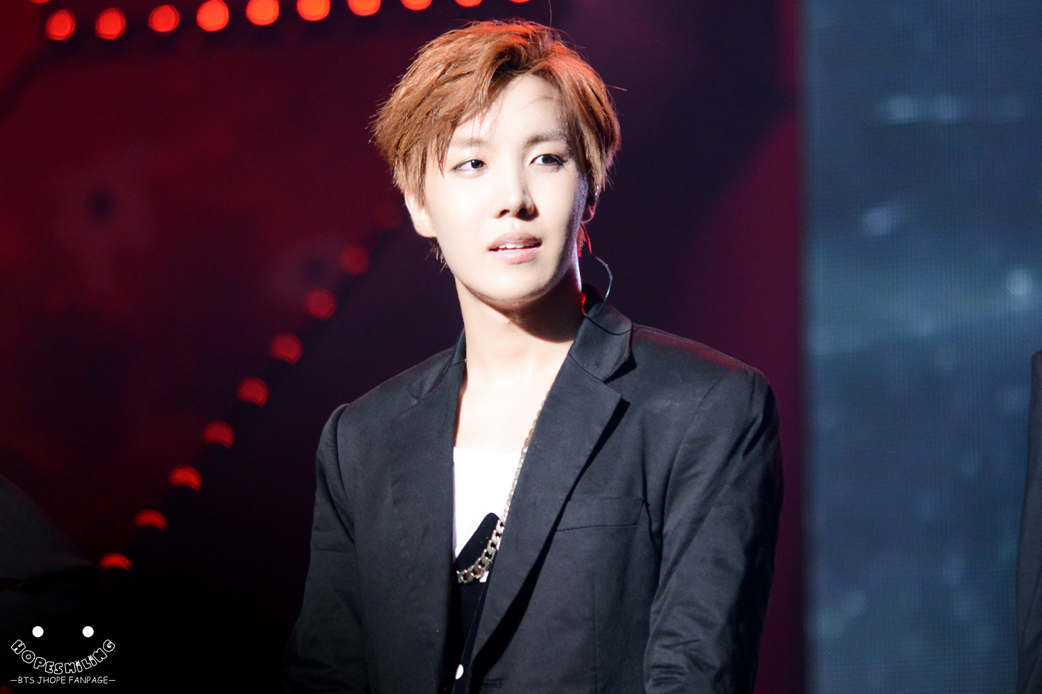 Handsome J-hope at BTS showcase